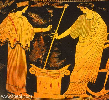 From Persephone to Demeter
