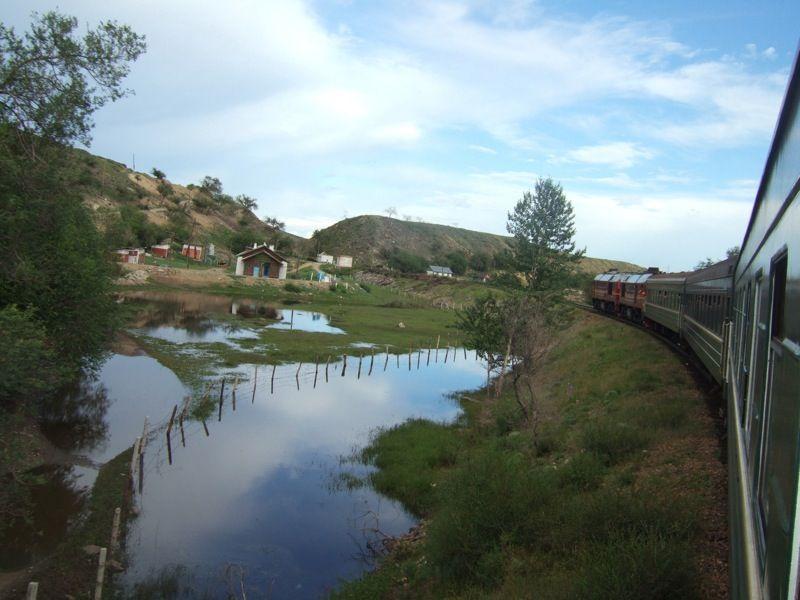 The Trans-Siberian Railway!